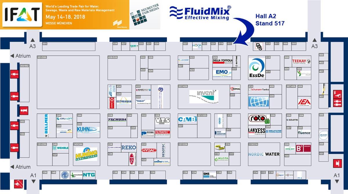Fluidmix en la Feria IFAT 2018
