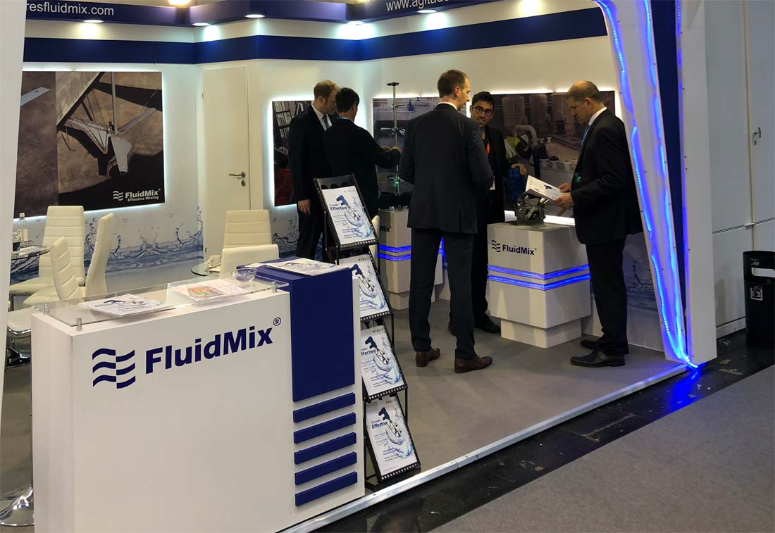 Stand Fluidmix IFAT 2018
