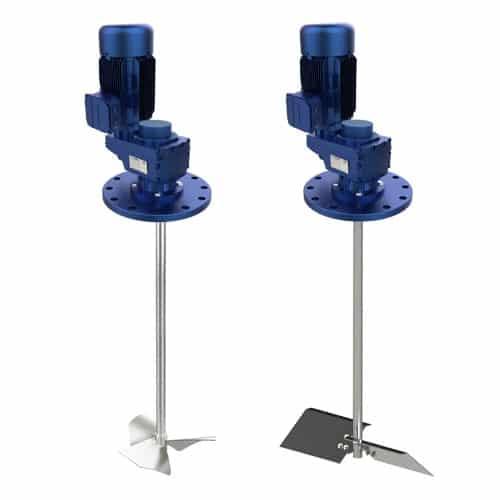 agitadores industriales verticales